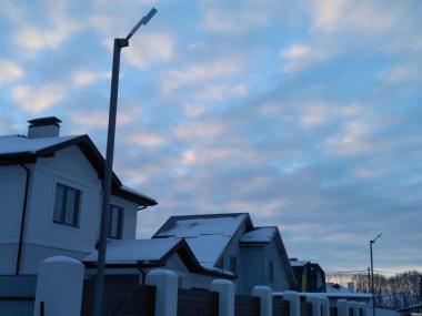 Уличные светодиодные светильники от украинского производителя;Видео:
