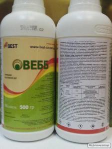 Гербицид Вебб аналог Гранстар  - трибенурон-метил 750 г/кг, пшеница