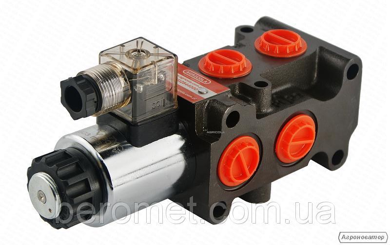 Гідророзподільник з електричним керуванням 50л/хв