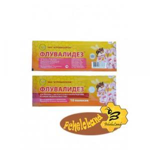 Флувалидез (60 мг. флувалінату, олія чебрецю, лаванди, розмарину) 10 дощечок