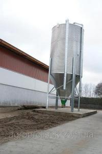 Бункер для кормів 11 т, 17.2 м3