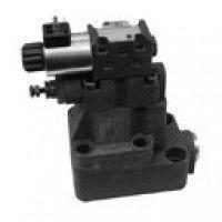 Разгрузочный клапан с автоматической / электромагнитной вентиляцией Duplomatic, клапаны RQ * M *- P -