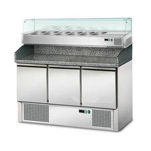 Стіл для піци GGM POS147#AGS143 (холодильний)