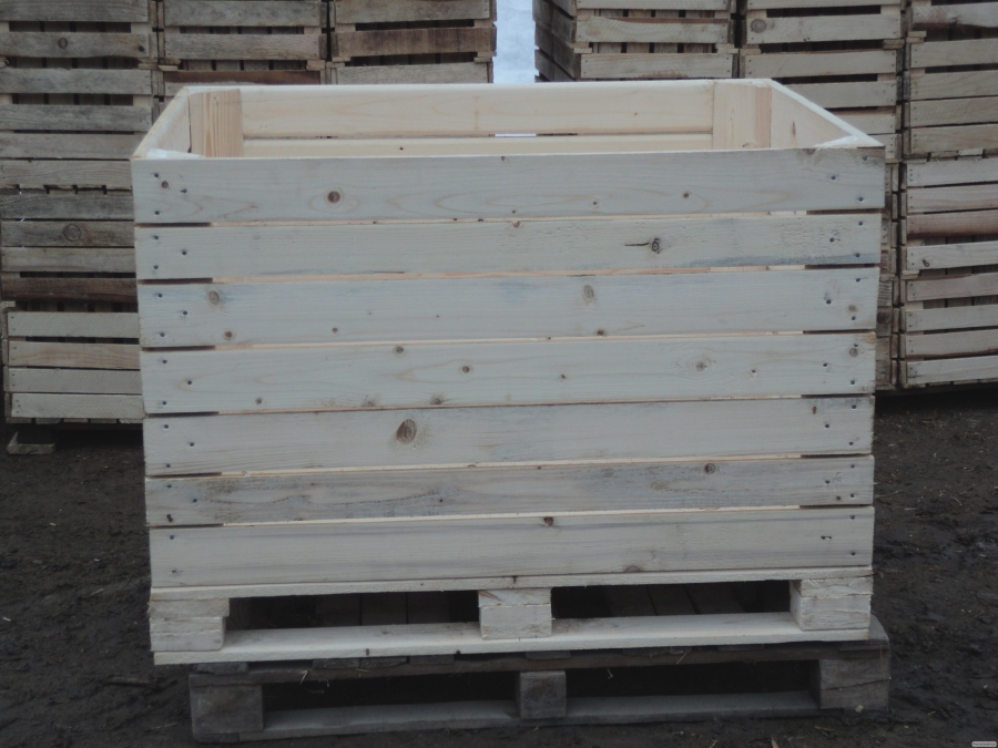 Контейнер дерев'яна яний для зберігання сільськогосподарської продукції