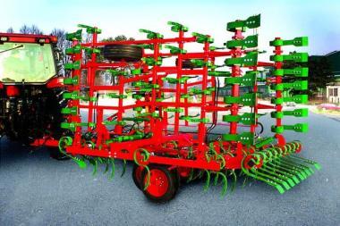 Полунавесной почвообрабатывающий агрегат VIKING