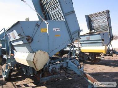 Однорядний прицепний картоплезбиральний комбайн