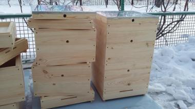 Купити Вулики для бджіл дадан, рута, корпусні, лежак в наявності