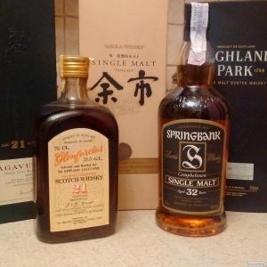 Покупаю элитные и коллекционные бутылки шотландского и японского виски