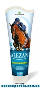 Алезан блиск-шампунь для гриви та хвоста коней (250 мл)