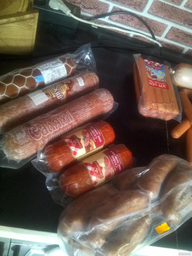 Обрезь колбасы корм для собак 21грн./кг