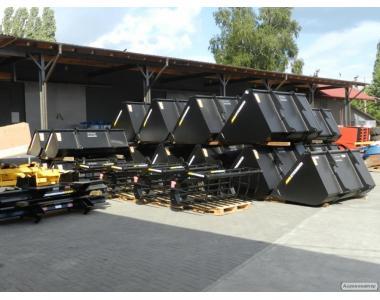 Ковші для телескопічних навантажувачів JCB