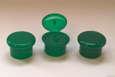 Колпачек Флип-топ зеленый.От производителя.Укупорка.Пластиковая тара!