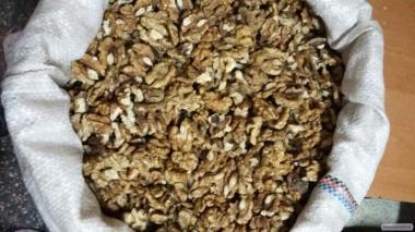 Волоський горіх, метелик, свіжий 2016-го року, оптом, 156 грн/кг