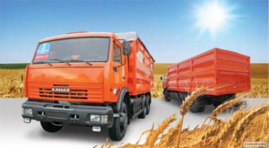Вантажоперевезення. Перевезення зернових та олійних культур