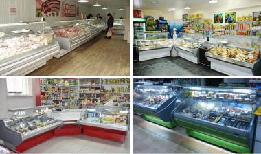 Холодильные витрины эконом. СКИДКИ -20% Рассрочка или Кредит по цене аренды!