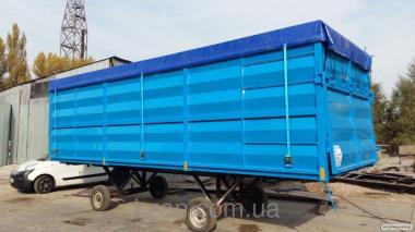 """Новый кузов тип """"зерновоз"""" для автопоезда 83 м3"""