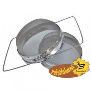 Двосекційний фільтр з нержавіючої сталі опуклий