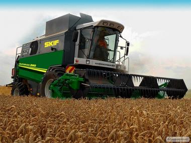 Продам Комбайн зерноуборочный, экономит 30% топлива на Га, SKIF 280