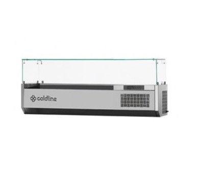 Холодильная витрина-надстройка Coldline VP14/6N