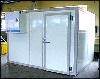 Холодильные и морозильные камеры из сендвич панелей. Агрегаты Zanotti, Ариада, Polair