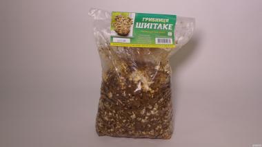 Блок для выращивания грибов шиитаке
