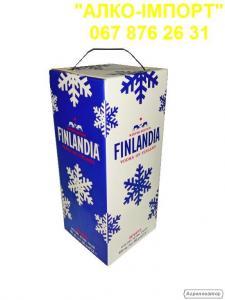 Горілка Finlandia класична 3 L тетрапак, гуртом та в роздріб.