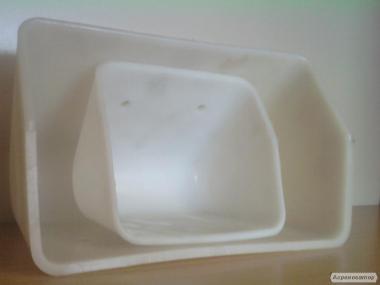 Ковші норійні для норії продуктивністю від 5 до 500 т/год