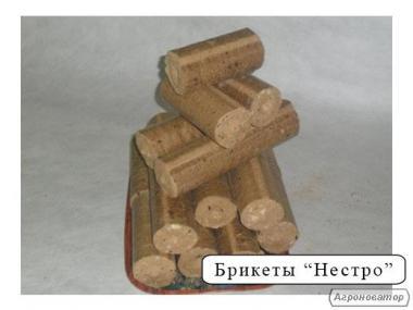 Брикет топливный древесный