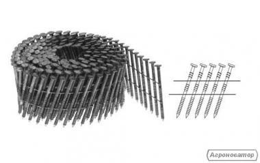Пневматичні цвяхозабивні молотки, цвяхи гвинтові, кільцеві, EPAL