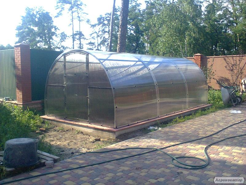 Теплица (каркас) 4х6 под поликарбонат