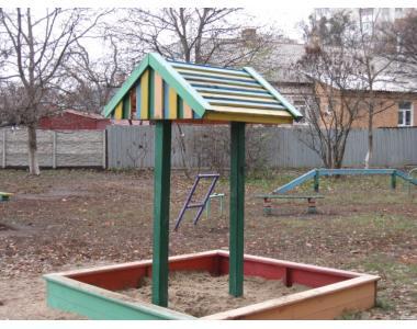 Комплектующие для детской площадки: грибок
