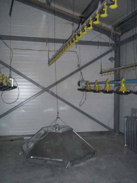 Напольное оборудование для выращивания бройлеров 54