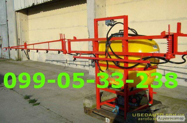Обприскувач 600 л штанга 14м. з карданом 6x8