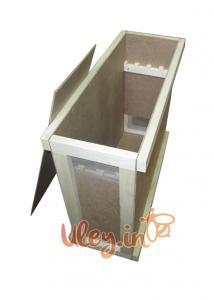 Ящик для перевезення бджолопакетів (на 4 рамки)