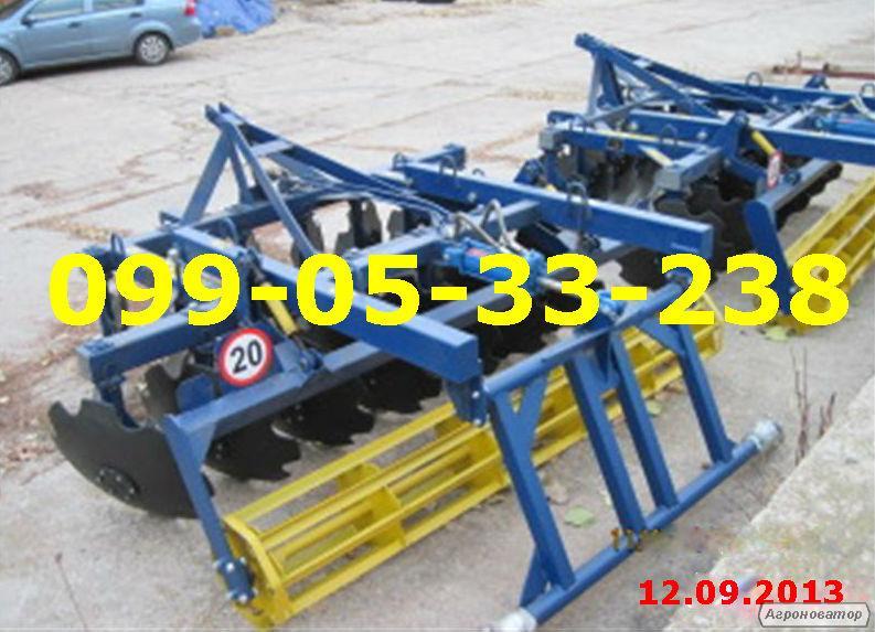 Борона дисковая тракторная АГД-2.5(ЮМЗ,МТЗ-80/82)