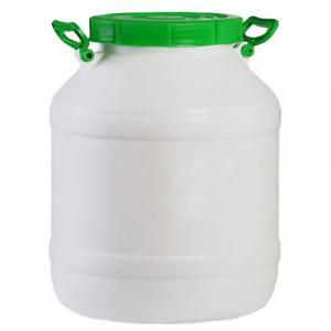 Бидон пищевой пластмассовый, 40 л. Горловина 220 мм.