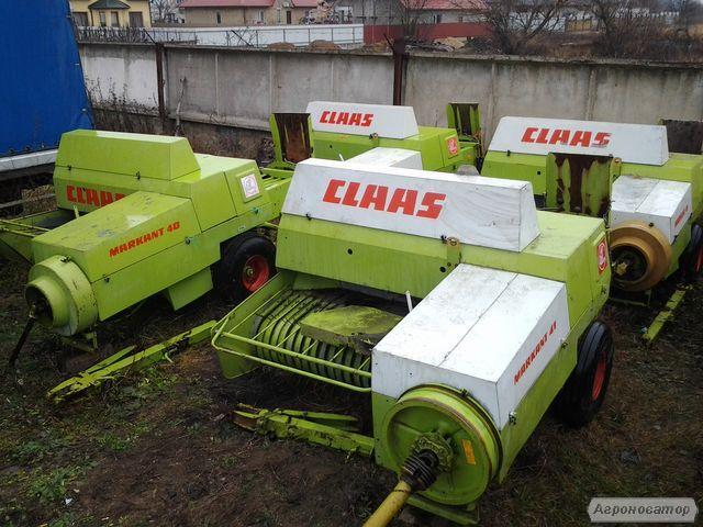 Пресс подборщик Claas markant 41