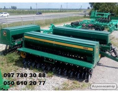Сівалка зернова механічна Джон Дір-10,7 м. (John Deere) 455 (Б/У)