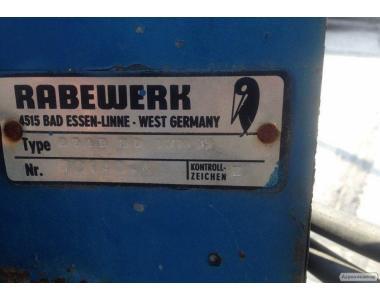 Оборотный плуг Rabewerk 3-х корпусной