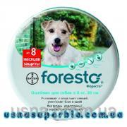 Форесто нашийник для собак і кішок 38 см