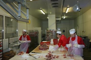 Подвесные пути для туш мяса (бесшумные) Установка по Украине!