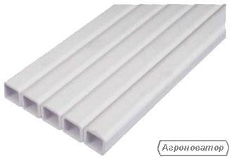 Труба квадратная пластиковая 22 х 22 мм