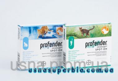 Профендер (для котів від 5 до 8 кг), 1 піп. х 1,12 мл