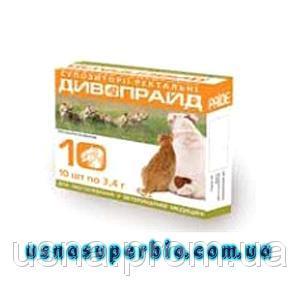 Дивопрайд Свічки для собак і кішок ректальні (10 шт)
