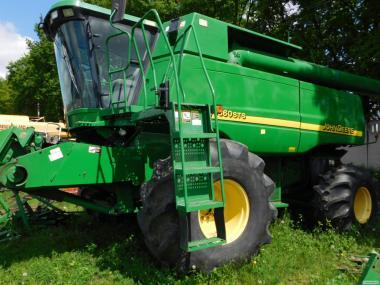 John Deere-9860STS зерноуборочный комбайн