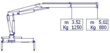 Кран манипулятор HC 50