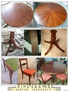 Ремонт і реставрація дверей, меблів та інших виробів з дерева.