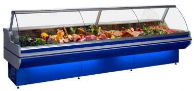 Вітрина холодильна Гастр. 1,2 м LCD Dorado-1,2