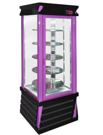 Холодильный шкаф ШХСДп(Д)-0,5 «АРКАНЗАС R» Стиль ХАЙ-ТЕК (кондитерский)