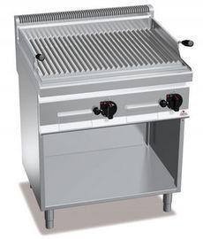 Лавовый гриль газовый напольный Bertos PLG80M